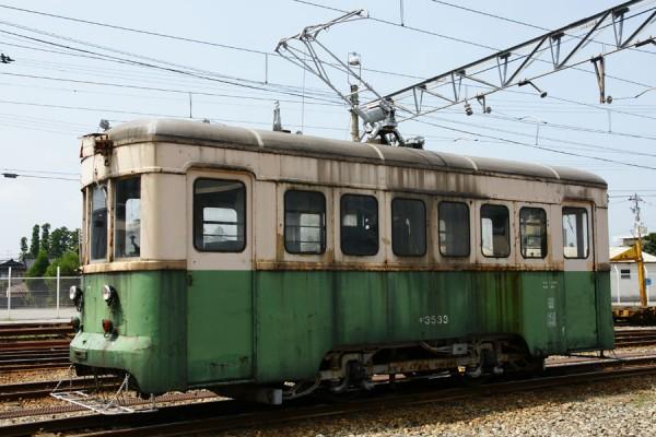 富山地方鉄道デ3533