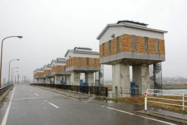 羽咋川潮止水門2