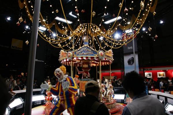 PIE2009 キヤノンブース