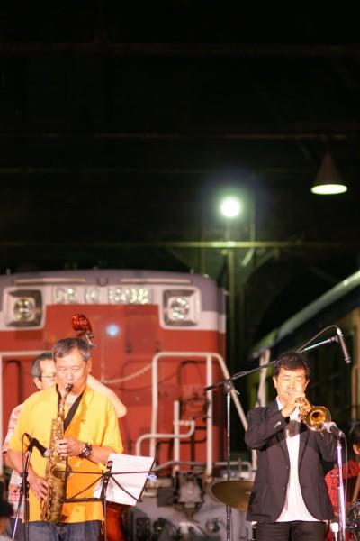 藤井信彦 Nothern Jazz Quintet in 赤レンガ車庫