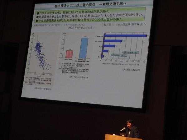 都市構造とCO2排出量の関係