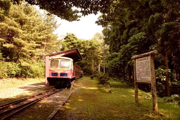 石川県森林公園の保存車