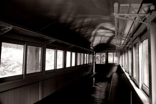 木曾森林鉄道の客車