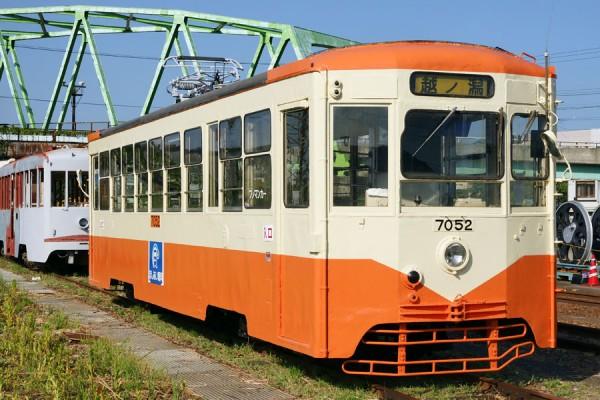 万葉線デ7052 加越能鉄道塗装