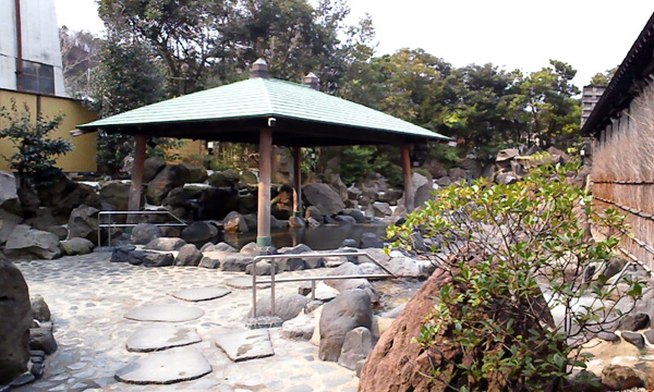 龍泉の露天風呂