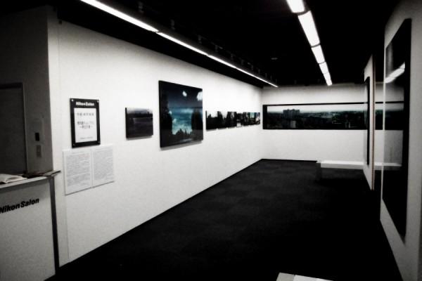 ニコンサロン中筋純写真展「黙示録チェルノブイリ 再生の春」の様子