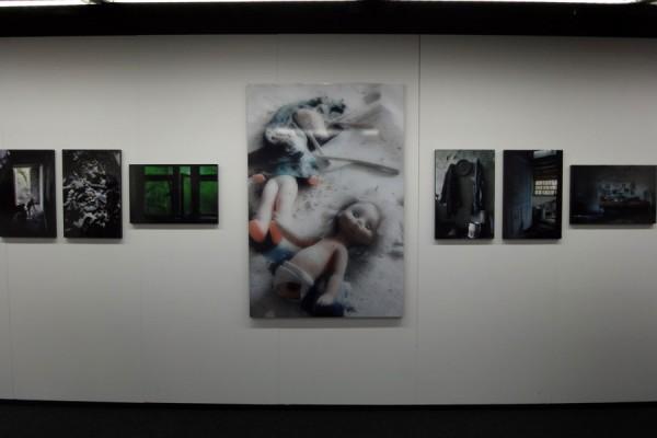 ニコンサロン中筋純写真展「黙示録チェルノブイリ 再生の春」展示作品の一部