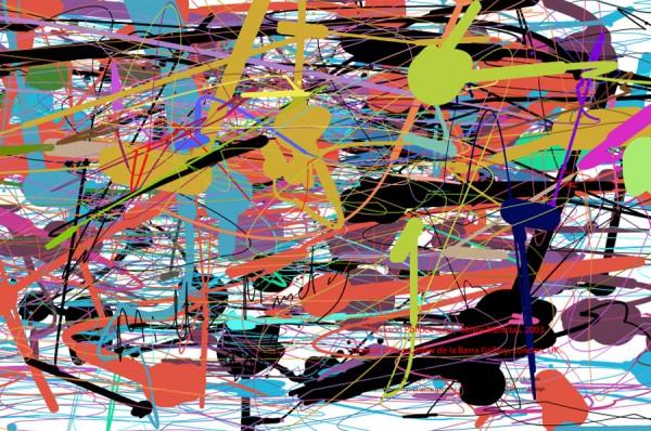 pollock.org ではマウスでポロック風の絵を描ける!?